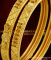 BNG014 - 2.6 Size Latest Calcutta Design Projected Heart Model Bangles Buy Online