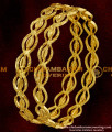 BNG015 - 2.4 Size Latest Kerala Light Weight Shiny Oval Model Bangles Buy Online