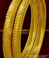 BNG038 - 2.8 Size Beautiful Gold Inspired Bangle Type Design South Indian Guarantee Jewelry Online