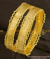 BNG091 - 2.4 Size Latest Beautiful One Gram Gold Plated Bangles Buy Online