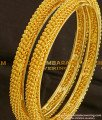 BNG092 - 2.6 Size New Style Designer Bangles Set from Chidambaram Covering
