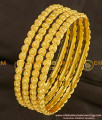 BNG096 - 2.4 Size Classic Design Hot Sale Bangles 4 Pcs Set Daily Wear Collection Online