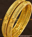 BNG112 - 2.4 Size Gold Look Fancy Bangles Gold Plated Jewellery Online