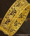 BNG139 - 2.6 Size Stylish Look Antique Stone Screw Type Kada Bangle Design Single Piece for Modern Girls