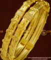 BNG151 - 2.4 Size Light Weight Daily Wear Gold Covering Guarantee Bangle Buy Online
