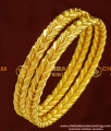 BNG153 - 2.6 Size New Model High Quality Shiny Cutting Designer Strong Solid Bangles Online