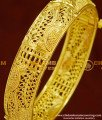 BNG162 - 2.8 Size Screw Type New One Gram Gold Kada Bangles Design for Ladies