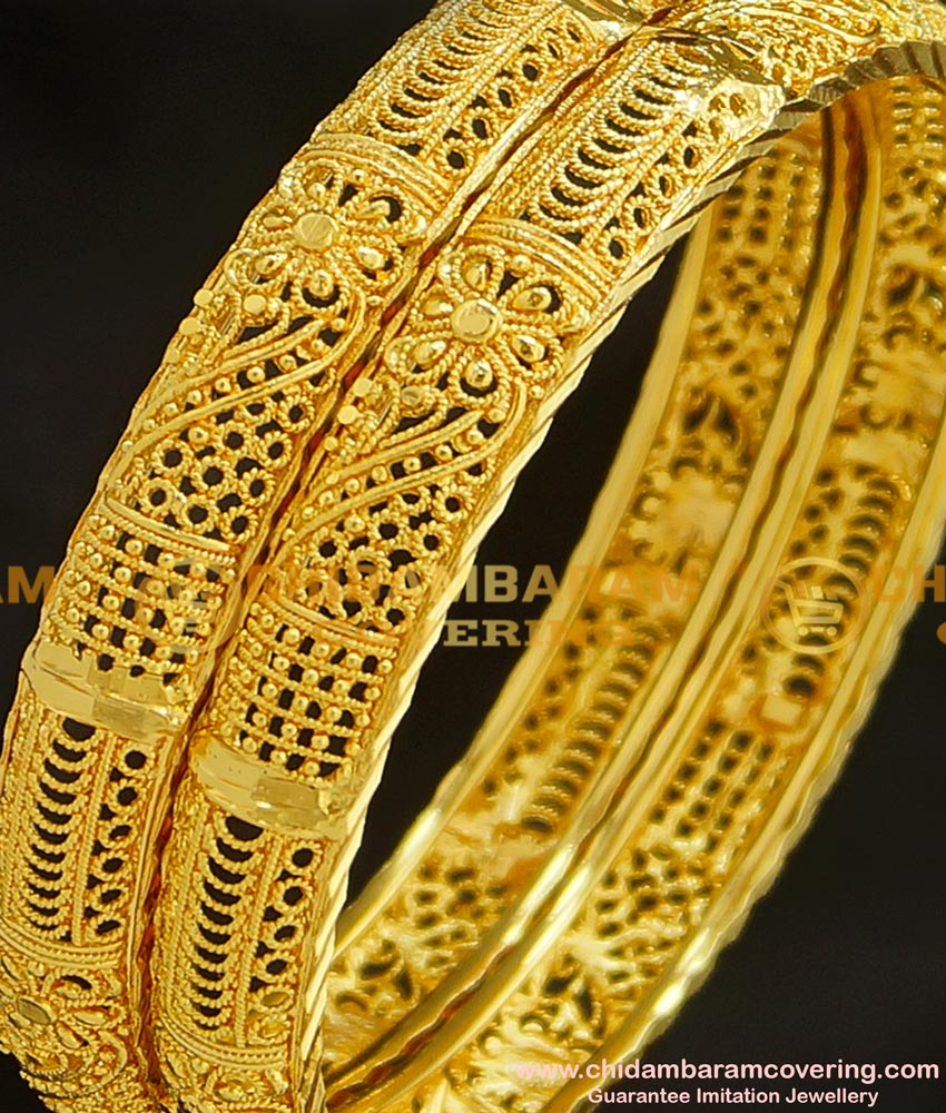 BNG215 - 2.4 Size New Collection Catalogue Model Designer Party Wear Bangles Indian Jewellery