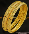 BNG216 - 2.8 Size Wedding Bangle Gold Design Enamel Coating Bangles Imitation Jewelry