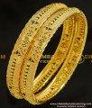 BNG216 - 2.6 Size Wedding Bangle Gold Design Enamel Coating Bangles Imitation Jewelry