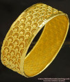 BNG227 - 2.6 Size Trending Gold Bangle Design Single Kada Bangle for Wedding