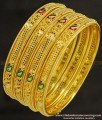BNG230 - 2.8 Size Latest Net Pattern Mango Design Gold Forming Bangles Die Set Imitation Jewellery