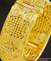 BNG247 - 2.6 Size Traditional Design One Gram Gold Plated Kada Bangle Screw Bangles Online