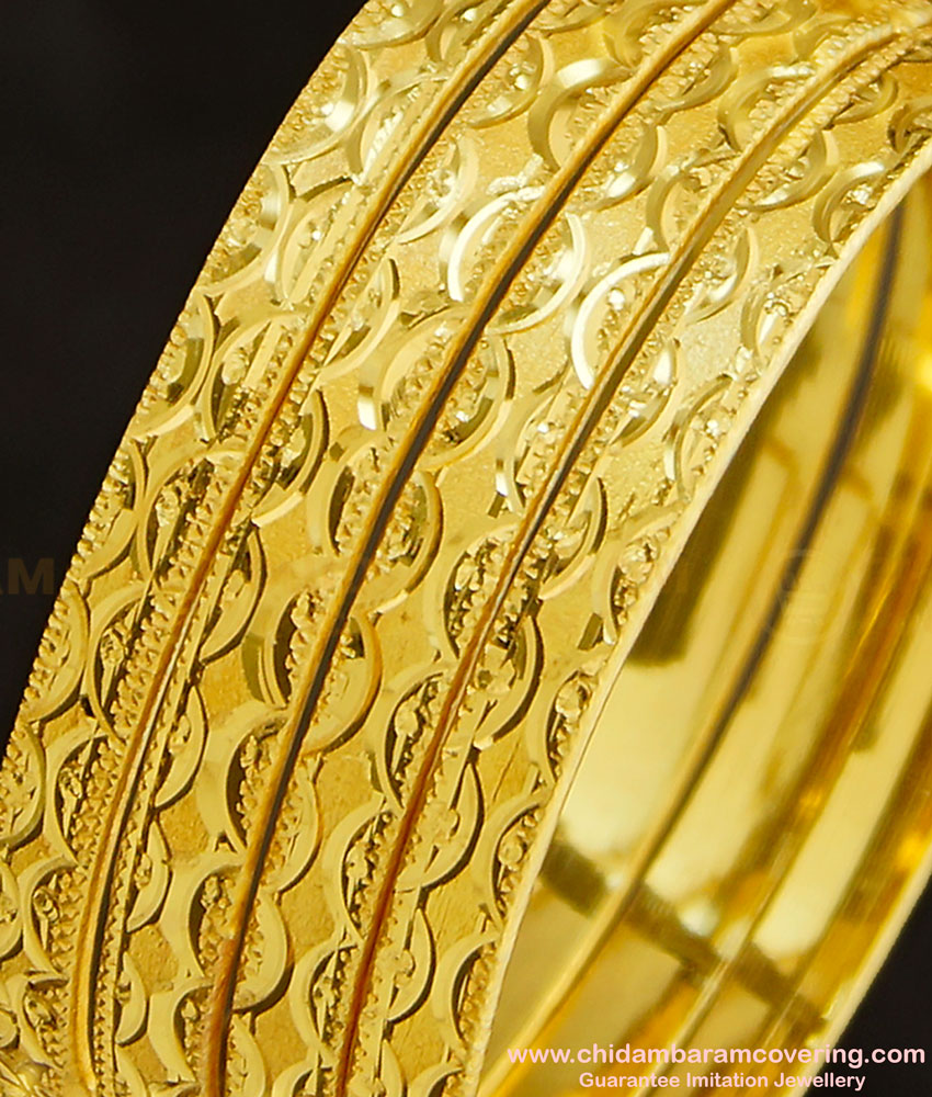 BNG267 - 2.4 Size Daily Wear Artificial Non Guaranteed Bangle Set Of 4 Pieces Buy Online