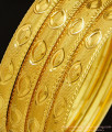 BNG295 - 2.4 Size Buy New Model Gold Imitation Bangles Design Set Of 4 Pieces for Daily Use