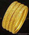 BNG296 - 2.6 Size Mansiyaorange Fancy Gold Border Bangles Design Indian Gold Imitation Jewellery