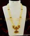BNS04 - Temple Jewellery 3 Line Muthu Malai Haram Pearl Haram Classical Dance Jewellery Online