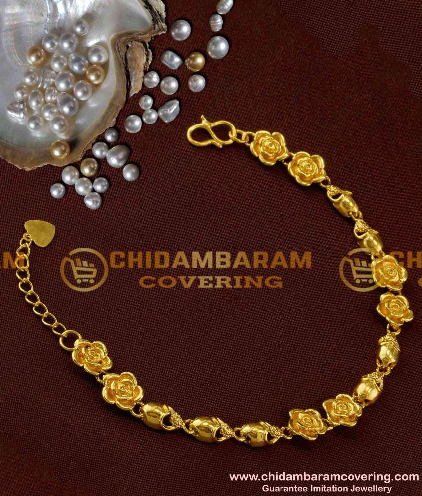 BCT04 - Attractive Handmade Flower Design Girl's Wear Low Price Bracelet Buy Online