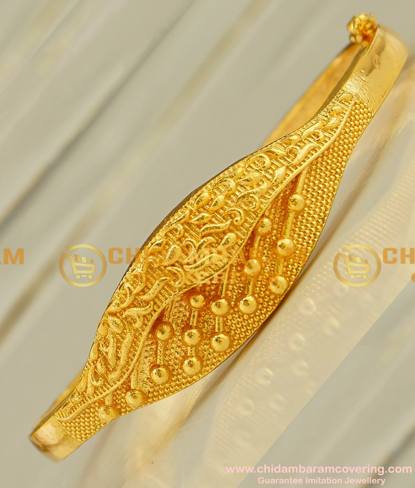 BCT33 - 2-6 Latest Designer Gold Bangle Type Bracelet Design Imitation Jewellery Online