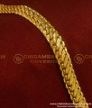 BCT64 - Gold Plated Daily Wear Solid Chain Design Hand Bracelet for Men