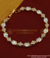 BCT74 - Stylish Modern Real Diamond Design Rose Gold Bracelet Design Imitation Jewellery