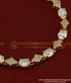 BCT74 - Stylish Modern Real Diamond Design Rose Gold Bracelet Design Imitation Jewellery