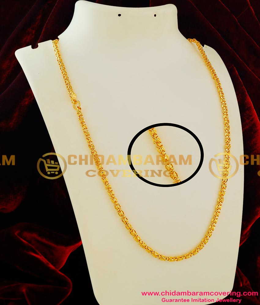 CHN019 – Kerala Model Butterfly Fancy Chain South Indian Jewellery Buy Online