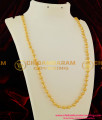CHN036- Gold Plated Gold Beads Chain Design [Milagu Mani] Daily Wear Chain