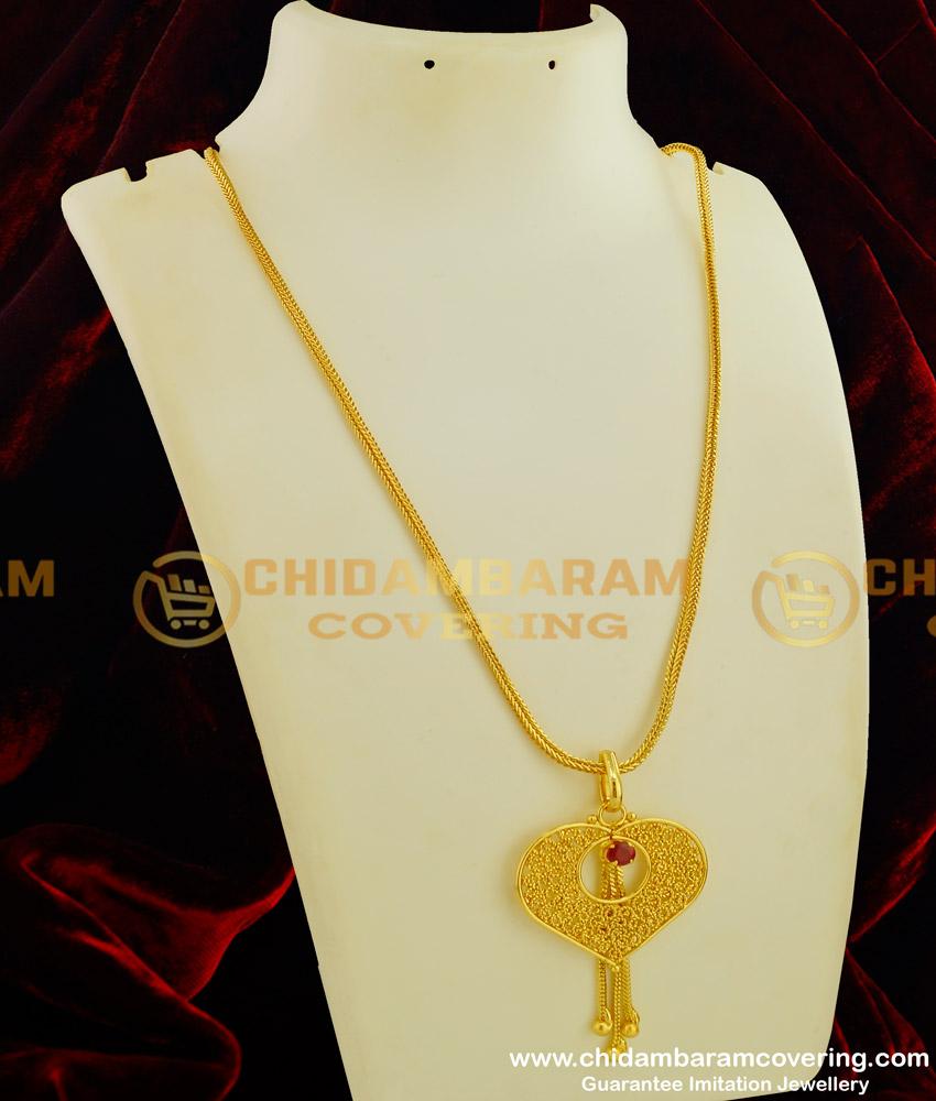 DCHN060 - Top Stylish Western Wear Long Chain Beautiful Pendant for Girls