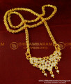 DLR008 - Impon One Gram Gold Plated Pendant with Jasmine Chain Special Offer Price Online