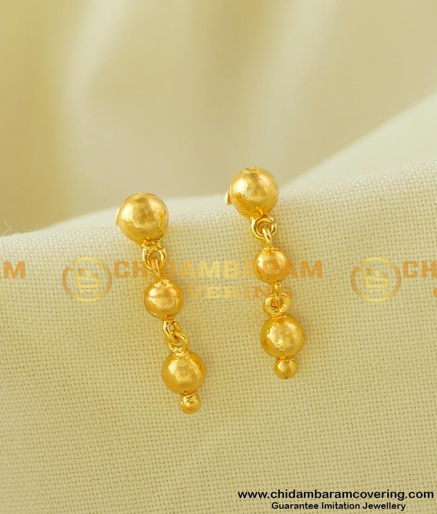 ERG043 - Small Rain Drop Earring College Teen Fashion Wear Jewelry Shop Online