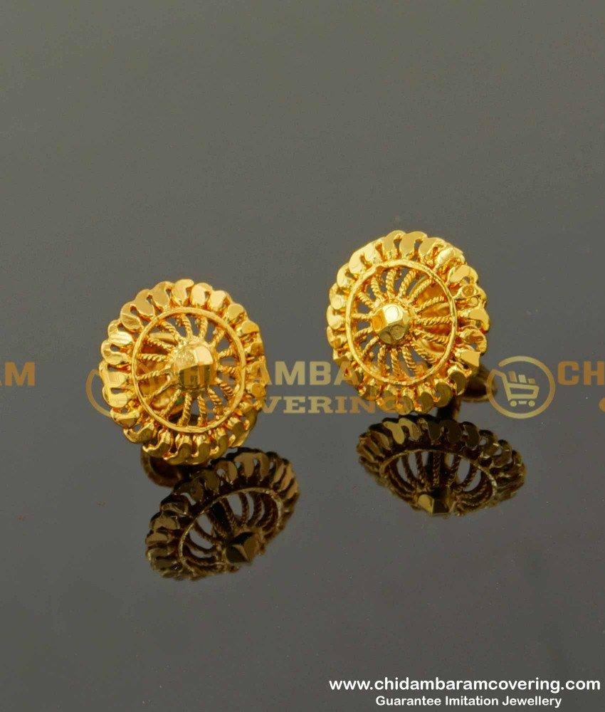 ERG092 – Light Weight Daily Wear Stud Designs Imitation Earrings