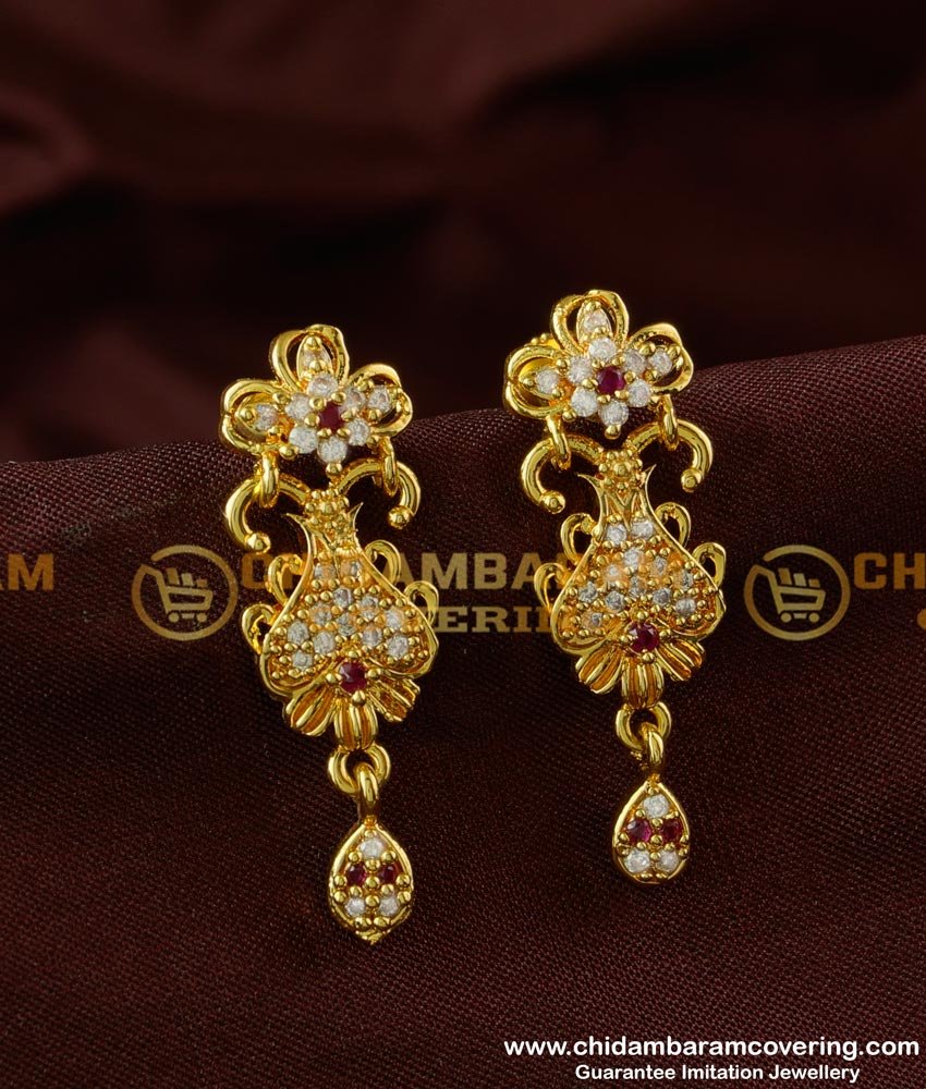 ERG232 - High Quality Ad Stone Fashionable Earring for Party