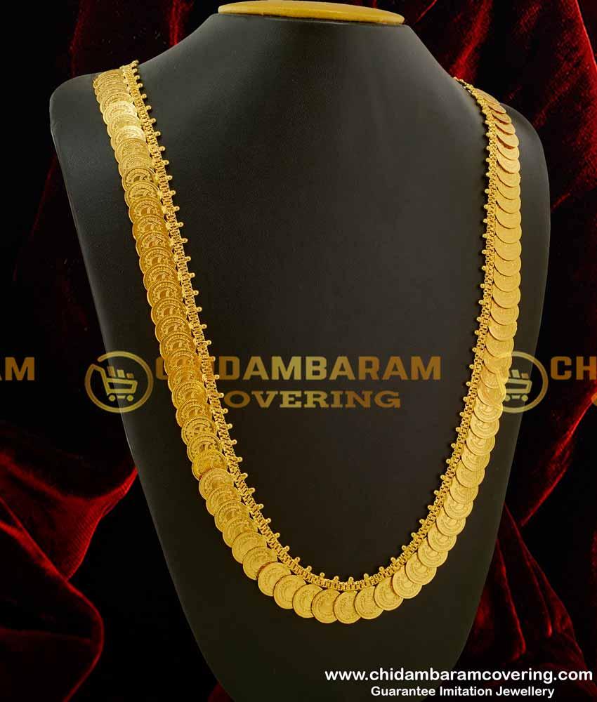 Buy Gold Plated Muslim Wedding Jewelry Crescent Kasu Malai For