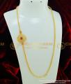 MCHN197 - 24 Inches New Designer Multi Stone Big Size Mugappu With Chain Latest Trending Jewellery Online