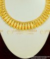 NLC364 - Gold Plated Traditional Kerala Designer Necklace for Kerala Saree