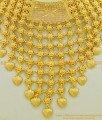 NLC541 - Latest Bridal Wear Real Gold Design Kerala Choker Necklace Wedding Jewelry Online