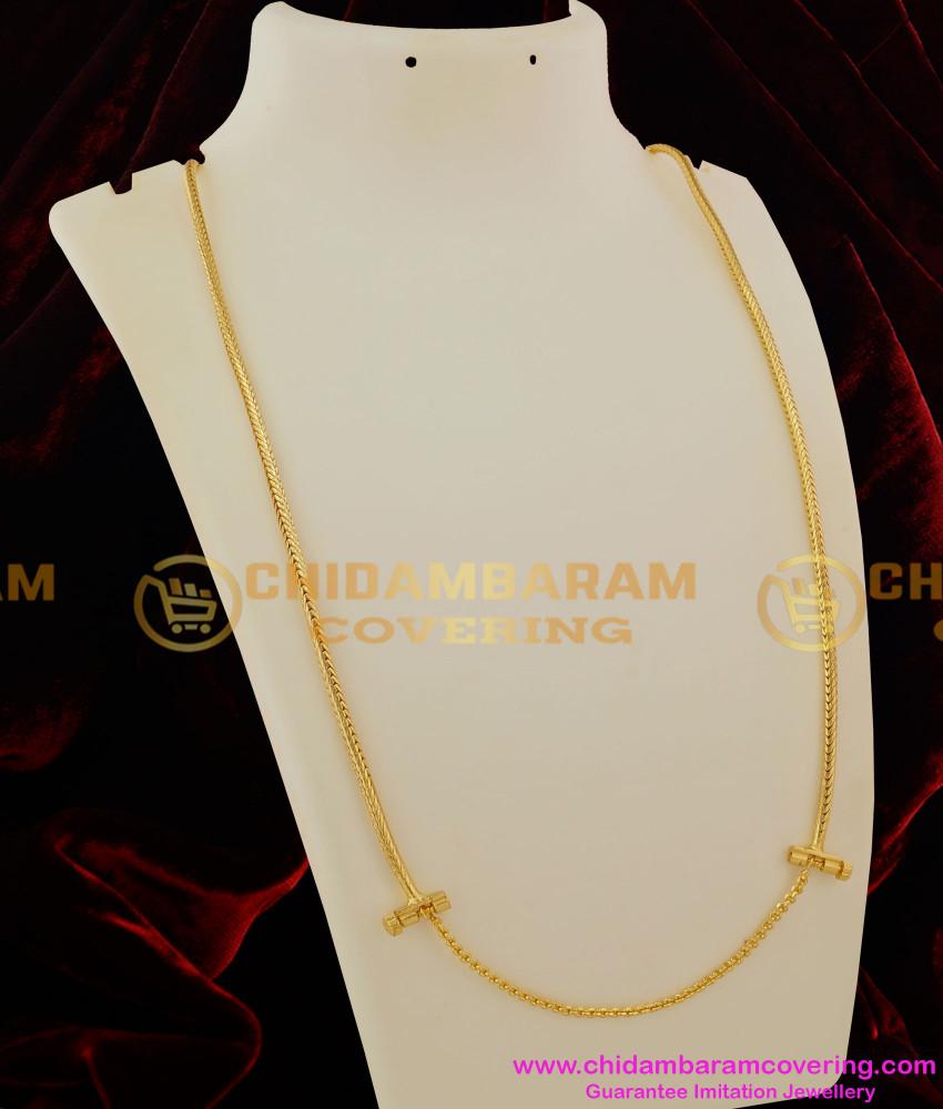 THN14 - Screw Lock Thirumangalyam Kodi (Nantha Saradu) Knitted Design Thali Chain Online