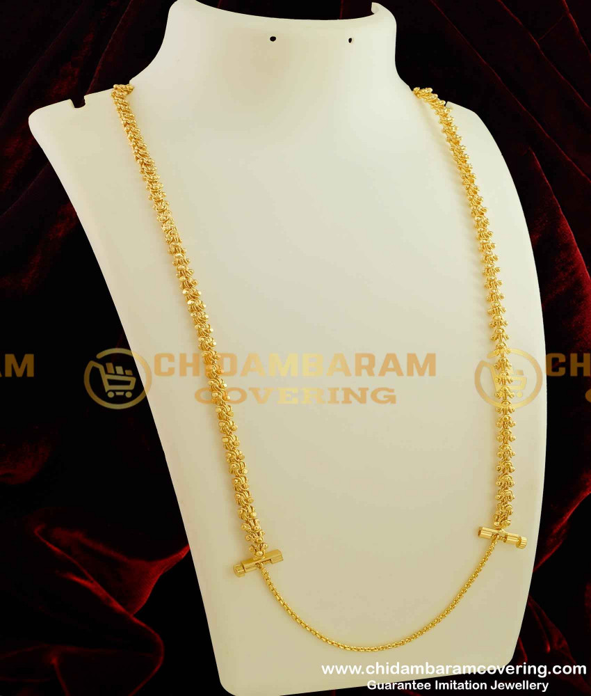 THN18 - Electroplated Dasavatharam Chain with Screw Lock - Thali Chain For Malaysia Tamilan