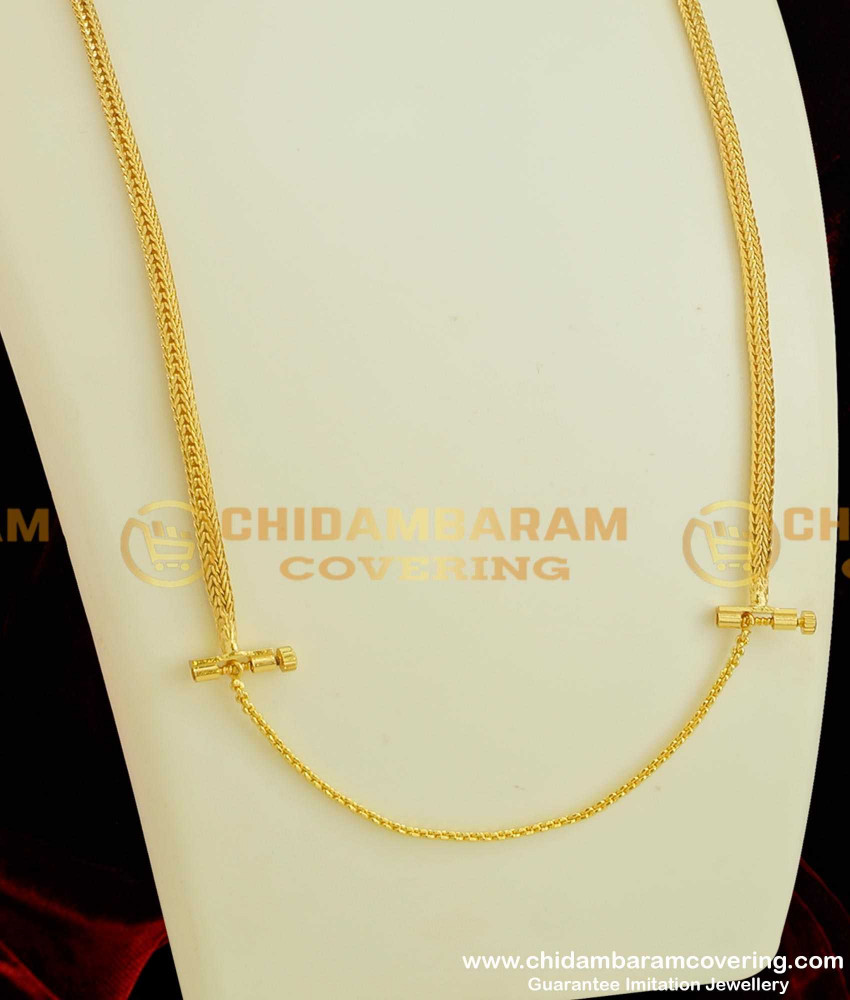 THN22-LG - 30 Inches Long Pinnal Kodi Thali Chain Design with Screw Connector Low Price Online